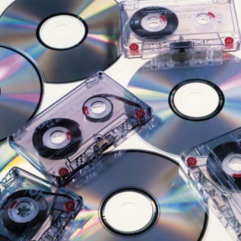 Cassettes and CDs